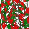 Absztrakt karácsonyfa