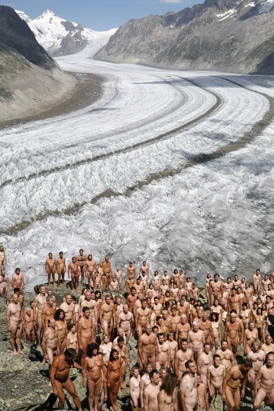 gleccserfotózás Svájcban