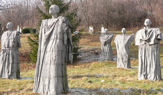 A magyarpolányi temetõ