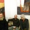 Katona Gyuri, Tóth Jóska, Horváth Lajos. Rovás kiállítás, Veszprém