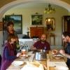 Sebestyén Erzsike vendégei voltunk Veszprémben