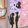 Egy pár grafiti