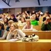 A nyitrai egyetemen tartott folyóirat-bemutató közönsége, 2010. december