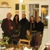 Szlovák fordítói szeminárium Balatonfüreden, 2007., Rácz Péter a Fordítóház vezetője, Tóth Krisztina költő és néhány résztvevő