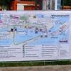 Térkép a helyszínekkel