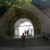 a magyar pavilon bejárata