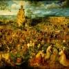 Bruegel: Út a Kálváriára