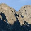 A Lomnici-csúcs, bár innen nem tűnik magasnak