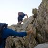 Még hamar ez a kép... kis keveredés :-), de íme, a láncos sziklafal!