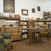 Mészöly - állandó kiállítás - könyvtárszoba