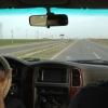 Így fest az autópálya, maximális megengedett sebesség 100 km/h, ennek ellenére mindenki száguldozik