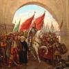 A szultán bevonul Bizáncba