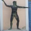 Odüsszeusz a régészeti múzeum előtt