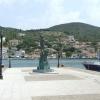 Odüsszeusz szobra Vathi főterén