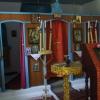 Pravoszláv kápolna belsője Perachoriban