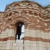a Sz. János templom épen maradt fala
