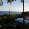 Nem szokványos medence egy ház teraszán, gyönyörű kilátással... Nászutasoknak való (van cím, ha valakit érdekel ;-))