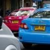 Taxi minden színben...