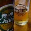 Egy finom Chang sör ebéd után, a Kwai hídnál