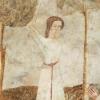 A kivégzés-jelenet: a lány karddal