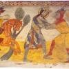 A freskóciklus első része