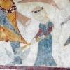 A kun lábár bárddal megsebző, kicsinynek ábrázolt magyar leány