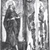 Az egykori vitfalvi Szűz Mária-oltár szárnyképe, 1490-ből, Szent István és Szent László alakjával