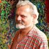 Hizsnyai-portré: Szászi Zoltán felvétele, részleteiben kissé le- és kifestve