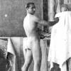 A modell Tsúszó Sándor Bruno Locci firenzei műtermében, 1941