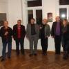 jobbról: Czimbalmosné Molnár Éva, kassai főkonzulasszony, Petőcz András, Balázs F. Attila, Stefanovics Péter, Csáji Attila, Köteles Ágoston, Haris László