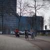 Mint mindenütt Hollandiában, itt is két keréken a legésszerűbb közlekedni