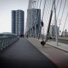 Tágas a tér gyalogosok, kerékpározók és járművek számára