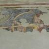 A székelydályai képen a leány a kunra tartott lándzsát markolja meg és próbálja távoltartani