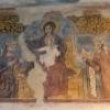 Panna Mária korunuje Karola Róberta, freska v Spišskej Kapitule, 14.st.