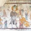 Freska na severnej stene