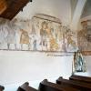 Celá freska na severnej a západnej strane