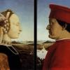 Pierro della Francesca - Federico da Montefeltro és Battista Sforza portréja