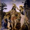Andrea del Verocchio - Krisztus megkeresztelése