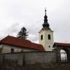 A rimabányai evangélikus templom látképe