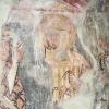 A gelencei falkép: a püspök megáldja és küldi Szent Lászlót a kunok ellen