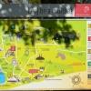 Az Ópusztaszer Történeti Emlékpark bejárható helyei a térképen