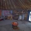 Történeti források és régészeti kutatások alapján rekonstruált jurta