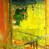 Pierre Bonnard: Mimóza a műteremben, 1939-1946