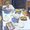 Pierre Bonnard: Asztal, 1924