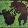 Pierre Bonnard: Két pudli, 1891