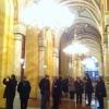 A teljeskörű felújításon átesett Pesti Vigadót március 14-én adják át