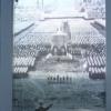 Hitler beszédet mond a Zeppelin-mezőn