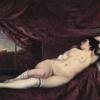 Ležiaca nahá žena
