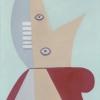 Pablo Picasso: Dievčenská hlava, 1929