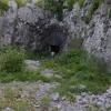 Egy kaverna bejárata
